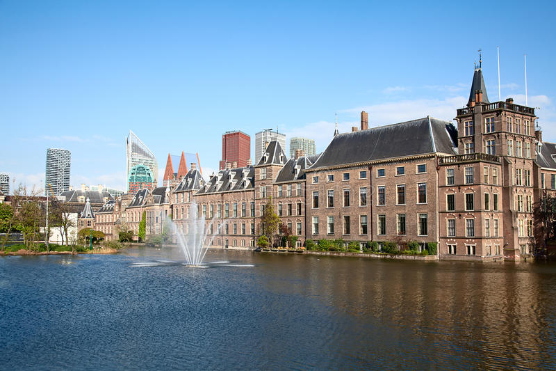 Binnenhof стоковое изображение