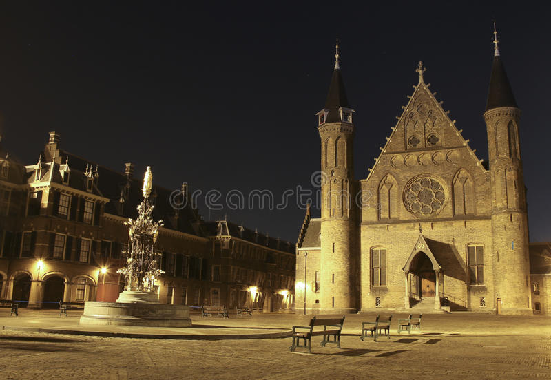 Binnenhof royalty-vrije stock afbeelding