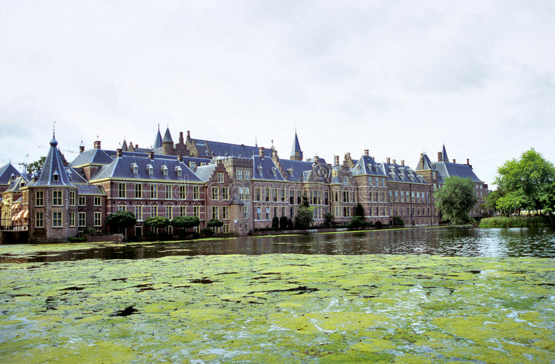 Binnenhof, antro Haag fotografia de stock royalty free