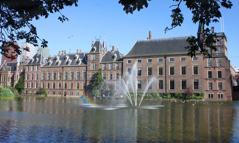 Binnenhof, Den Haag, die Niederlande stockbild