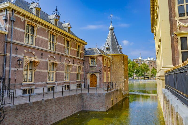 Binnenhof in Den Haag in Nederland stock foto