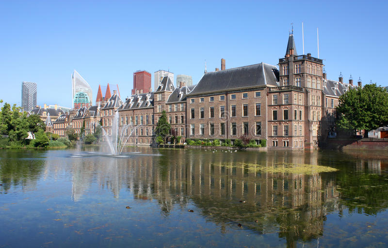 Binnenhof, Den Haag, Paesi Bassi immagini stock libere da diritti