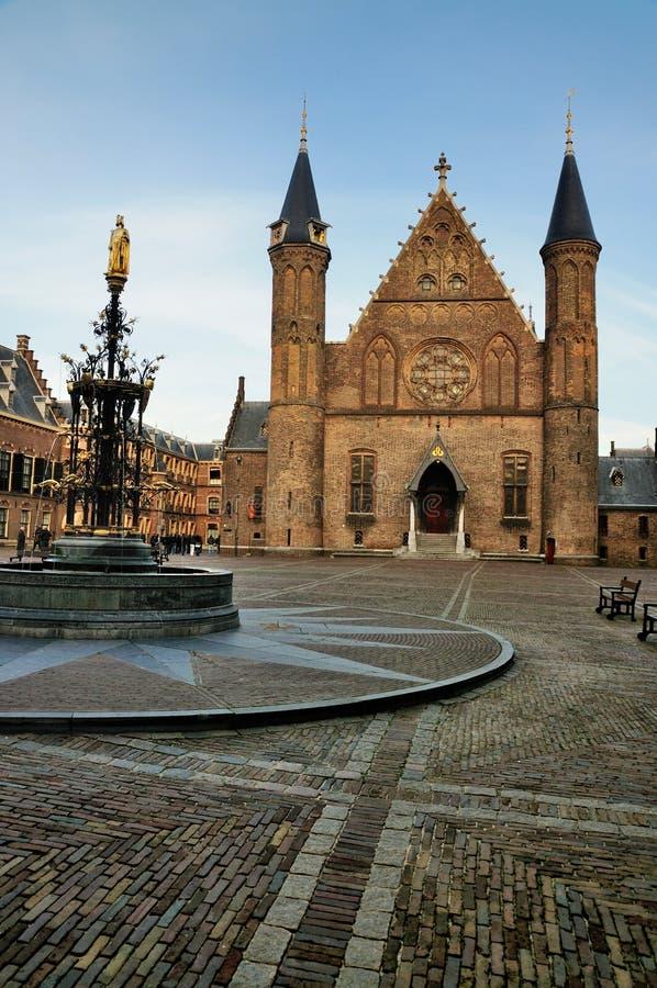 binnenhof Hague zdjęcie stock