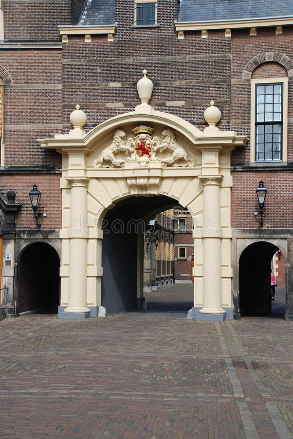 binnenhof Hague obraz stock