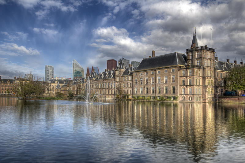 binnenhof Hague Holland fotografia stock