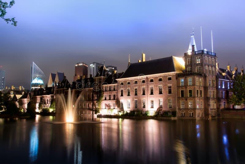 Binnenhof - il Parlamento e governo olandesi immagini stock