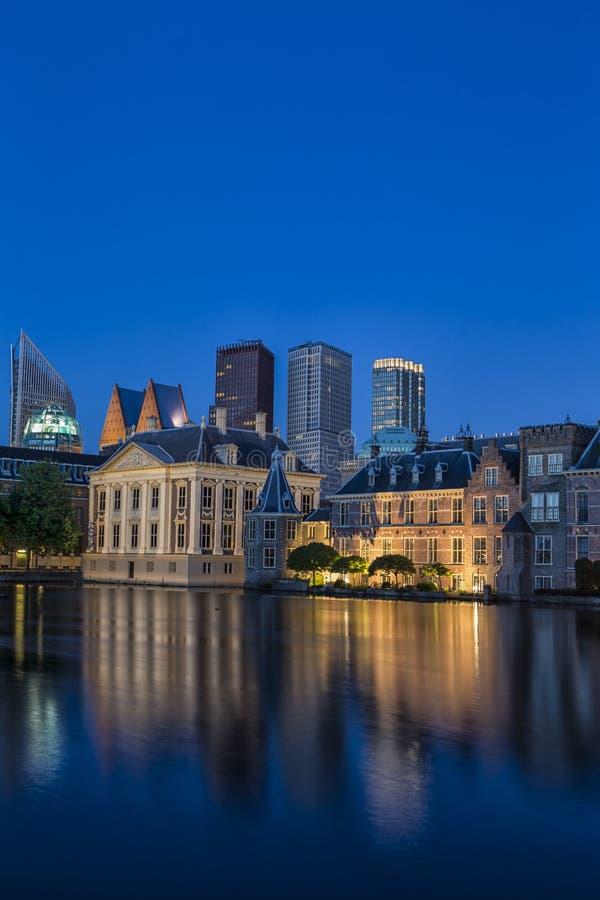 Binnenhof-Palast des Parlaments in Den Haag in den Niederlanden SH lizenzfreies stockfoto