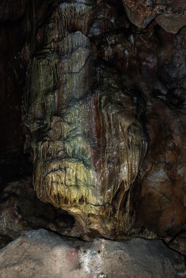 Binnenkents-Hol voorhistorisch hol stock afbeelding