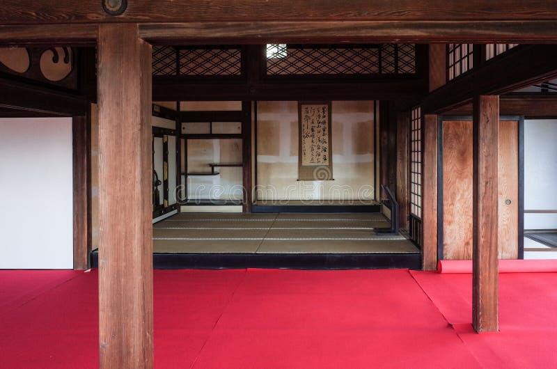 Binnenkochi-Kasteel royalty-vrije stock fotografie