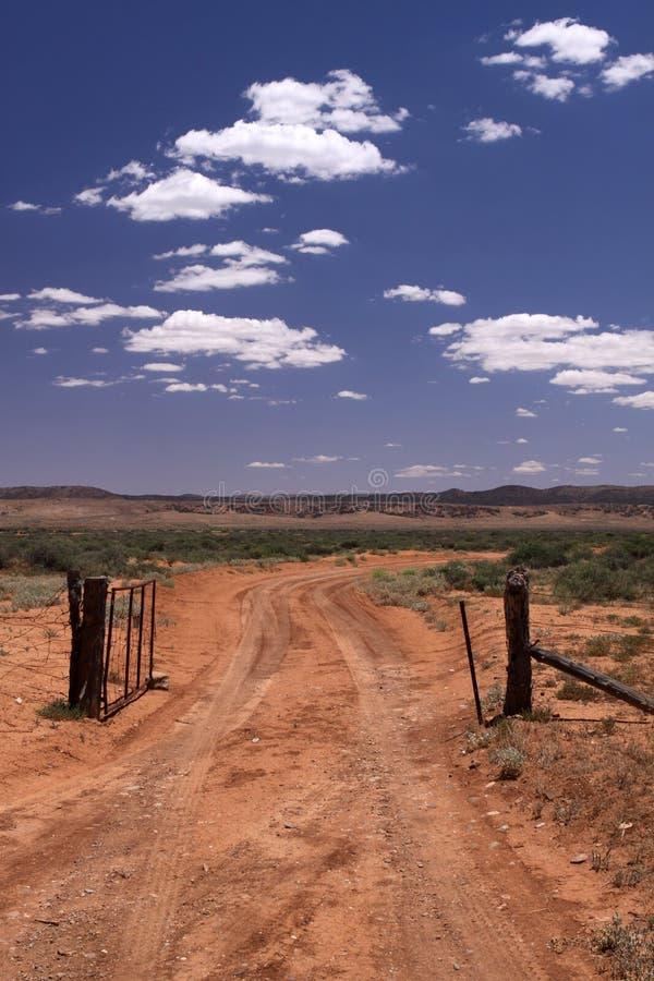 Binnenland. Australië stock foto