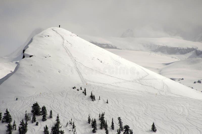 Binnenland Ski Destination stock foto