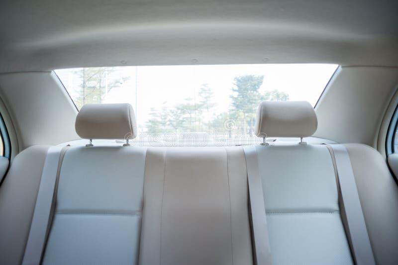 Binnenland van auto royalty-vrije stock afbeelding