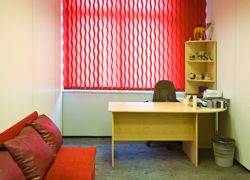 Binnenland van bureauruimte stock afbeeldingen