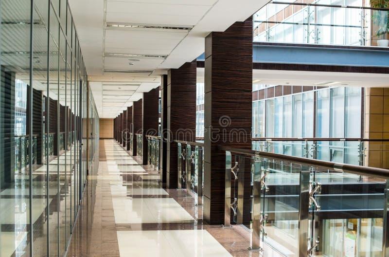 Binnenland van commercieel centrum royalty-vrije stock foto's