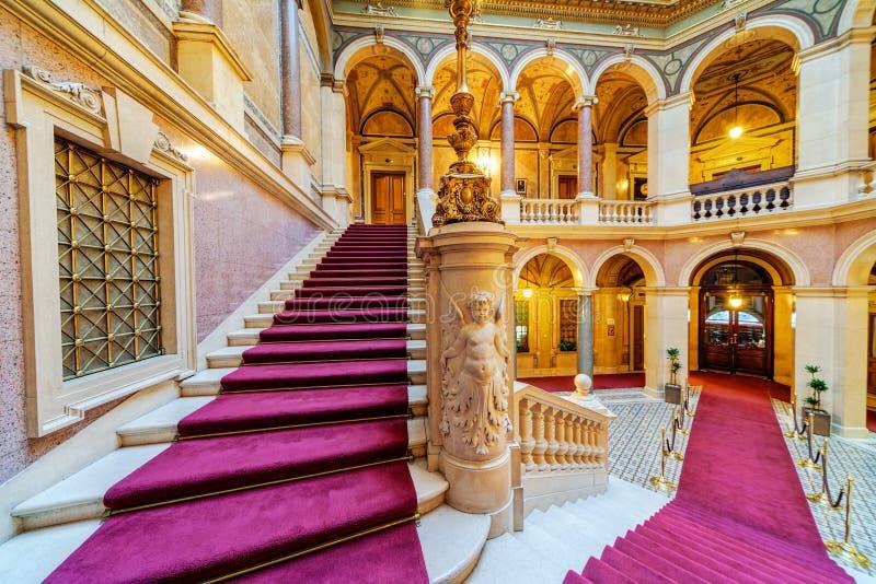 Binnenland van de klassieke bouw royalty-vrije stock fotografie