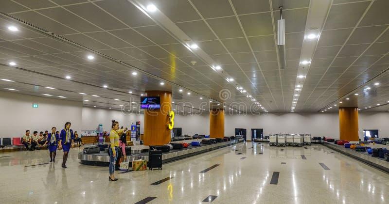 Binnenland van de luchthaven royalty-vrije stock afbeeldingen