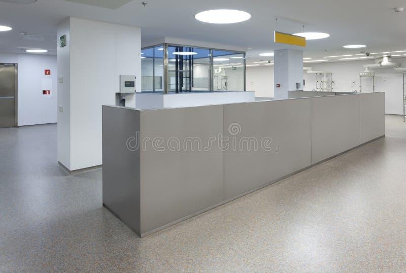 Binnenland van een het Ziekenhuisnoodsituatie royalty-vrije stock foto's