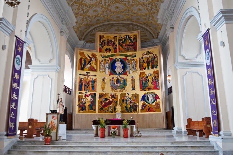 Francisco Xavier Church royalty-vrije stock foto's