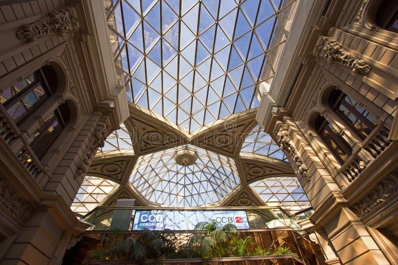 Binnenland van Galerias Pacifico, Buenos aires, Argentini? royalty-vrije stock afbeeldingen
