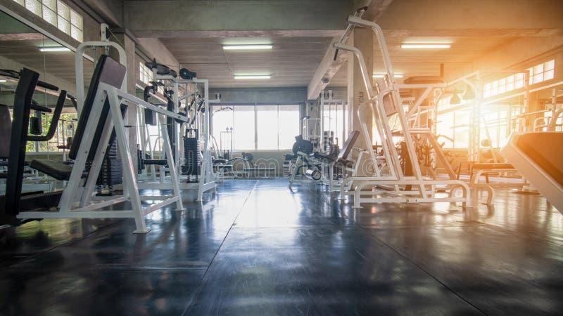 Binnenland van gymnastiek stock fotografie