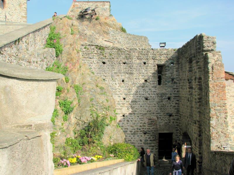 Binnenland van Heilige Michael Monastery royalty-vrije stock afbeeldingen