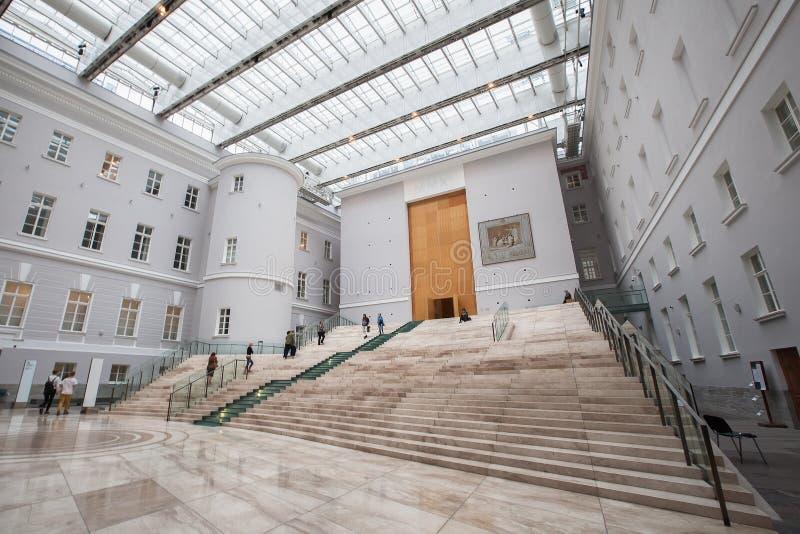 Binnenland van het Algemene Personeelsgebouw - tak van de Staat hij royalty-vrije stock fotografie