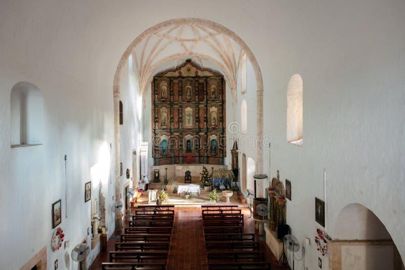 Binnenland van het Klooster van San Bernardine van Siena royalty-vrije stock fotografie
