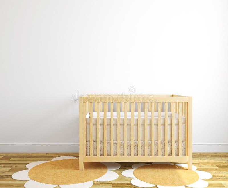 Binnenland van kinderdagverblijf. vector illustratie