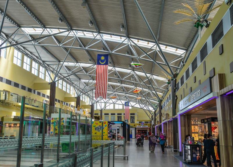 Binnenland van Langkawi-Luchthaven royalty-vrije stock foto's