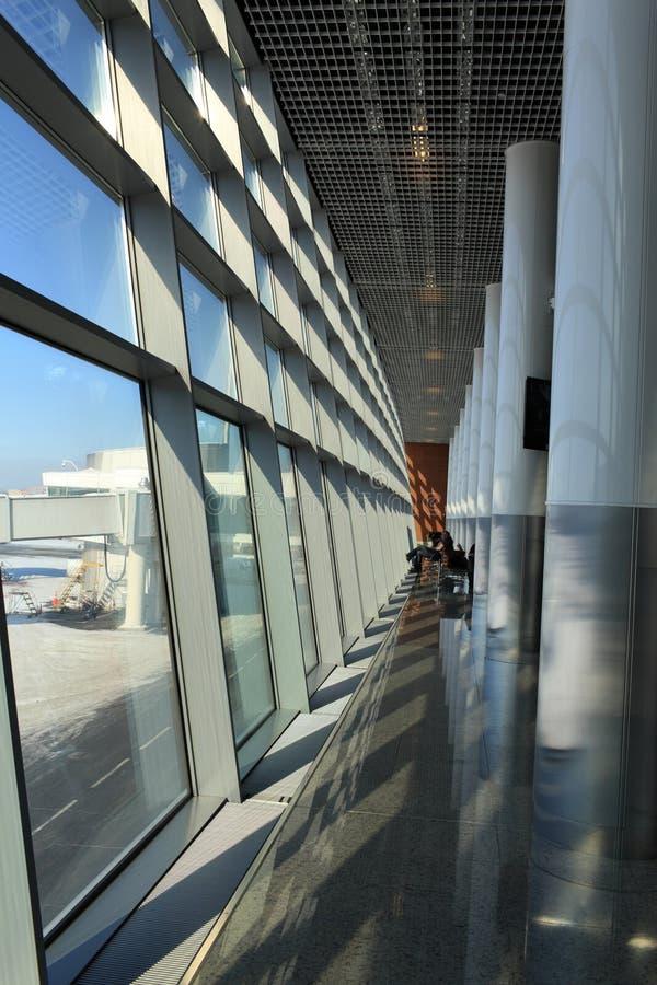 Binnenland van luchthaven stock foto's