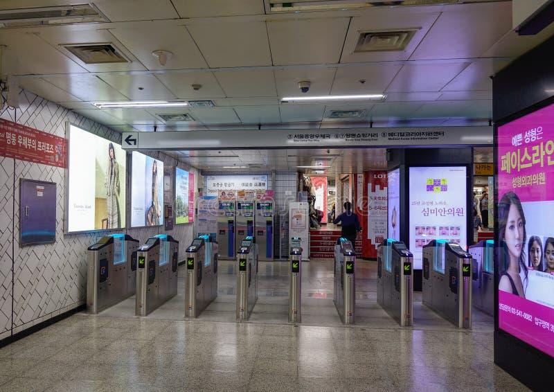 Binnenland van metropost stock foto's