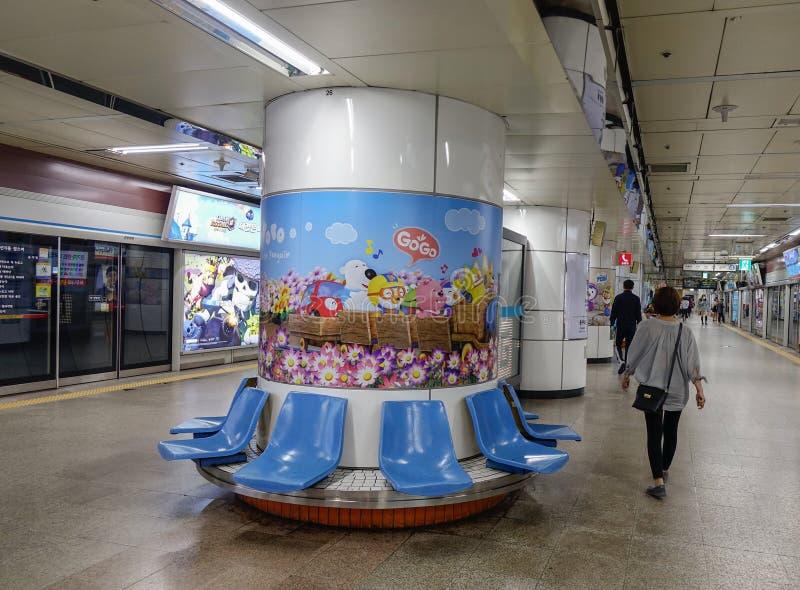 Binnenland van metropost royalty-vrije stock fotografie