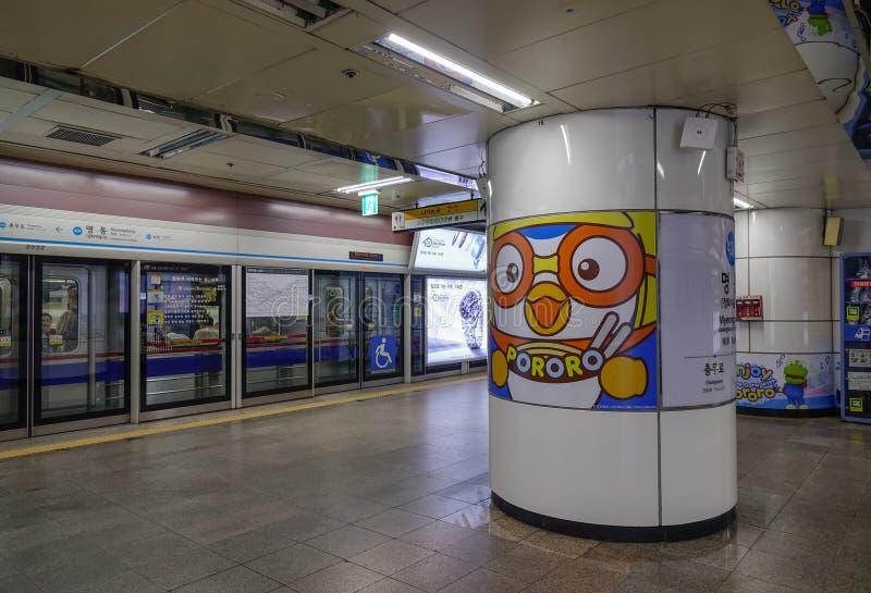 Binnenland van metropost royalty-vrije stock afbeeldingen
