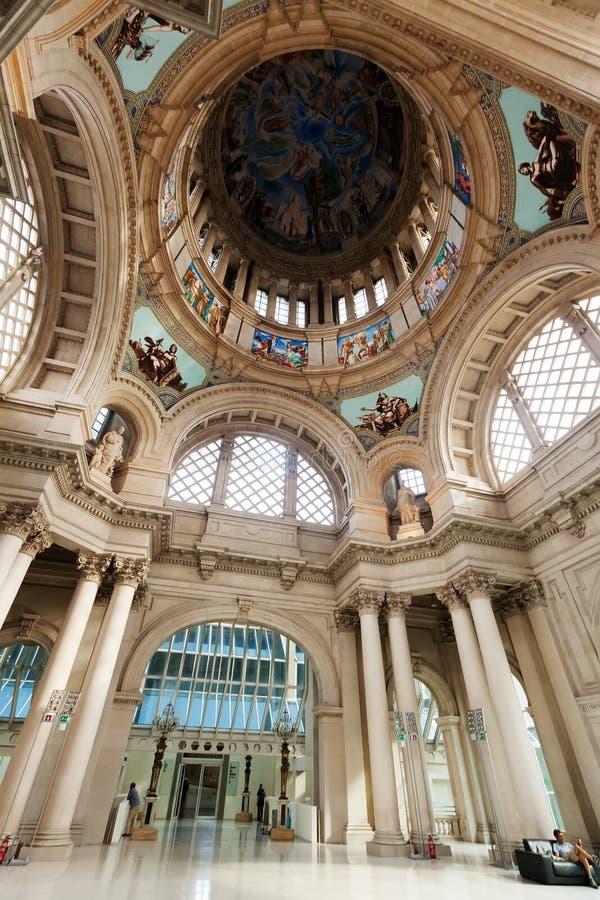 Binnenland van Nationaal Art Museum royalty-vrije stock fotografie