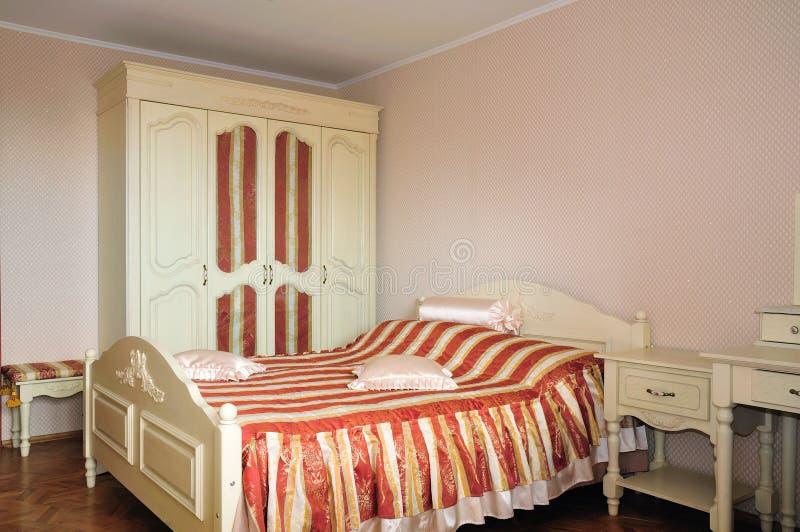 Binnenland van slaapkamer royalty-vrije stock foto