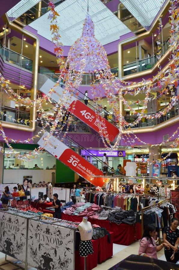 Binnenland van winkelcomplex stock foto's