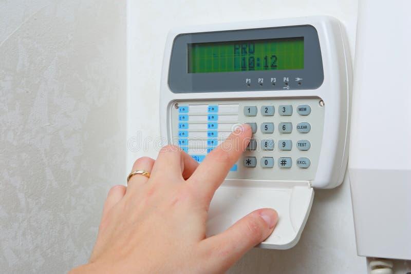 Binnenlands alarmsysteem royalty-vrije stock fotografie