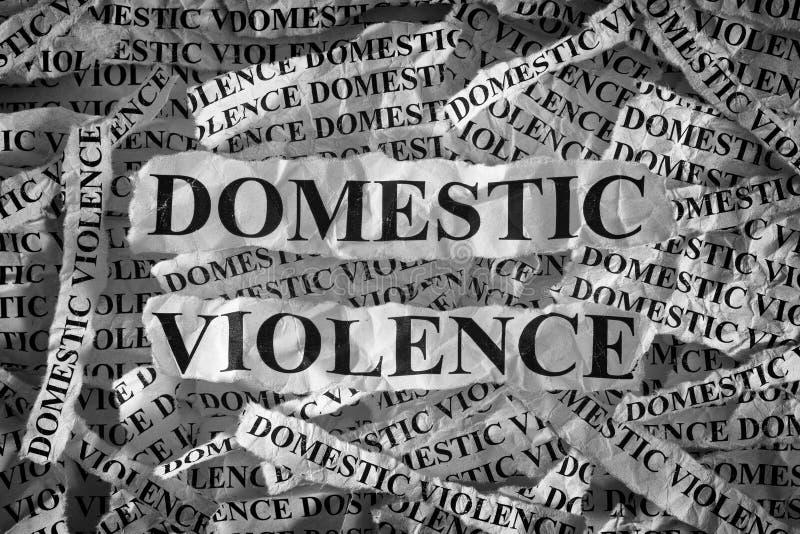 Binnenlands geweld stock afbeelding