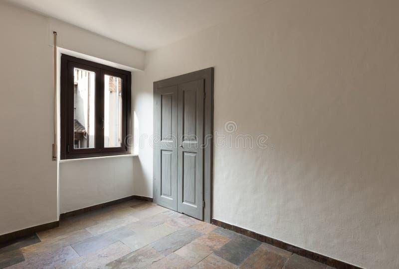 Binnenlands huis, ruimte stock afbeelding