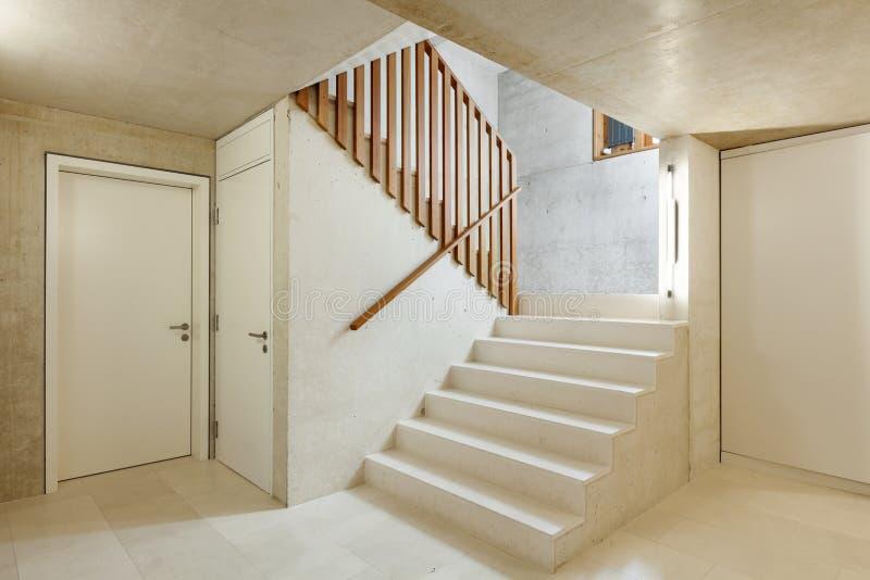 Binnenlands huis, trap stock foto's