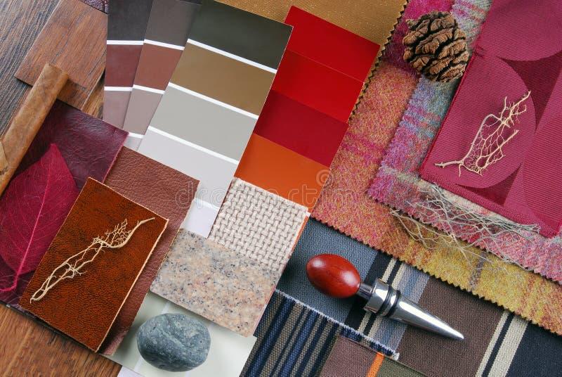 Binnenlands kleurenontwerp royalty-vrije stock afbeeldingen