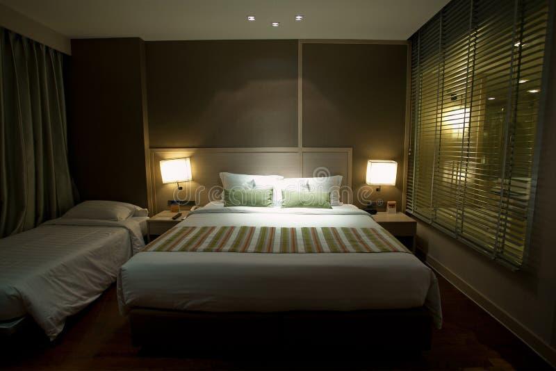 Binnenlands luxehotel royalty-vrije stock afbeeldingen