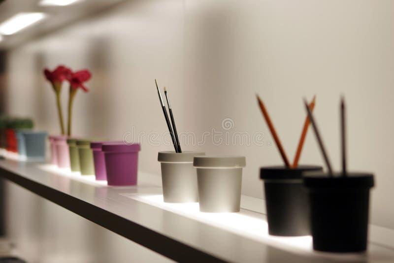 Binnenlands meubilair stock fotografie