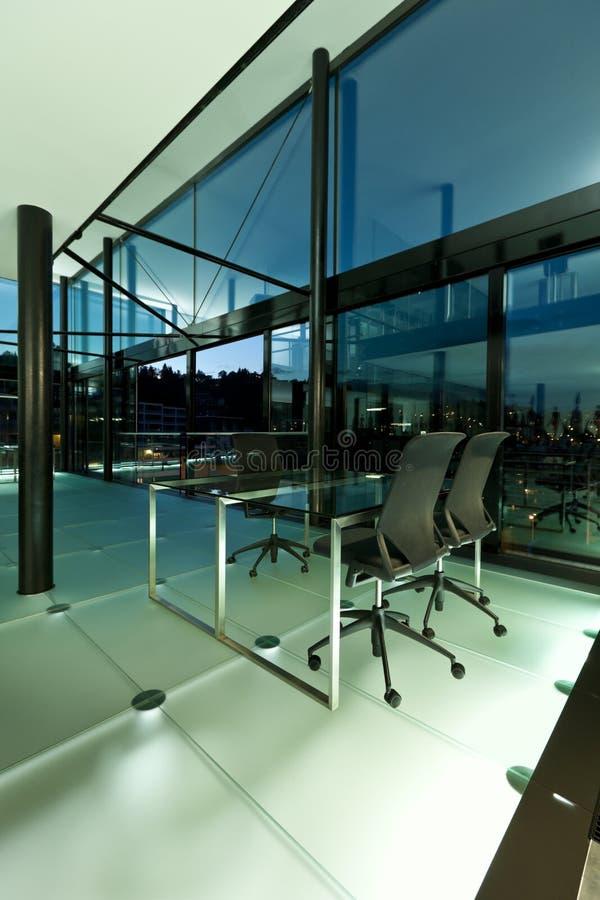 Binnenlands, modern ontwerp stock foto