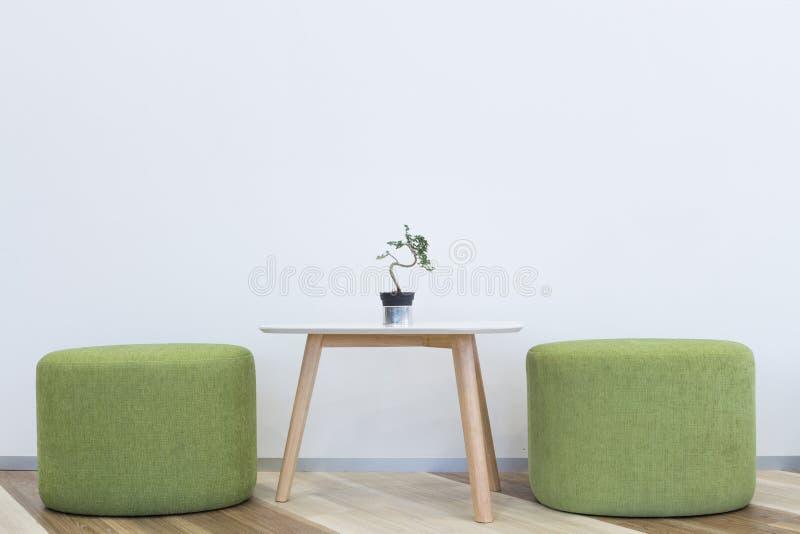 Binnenlands modern ontwerp stock afbeelding