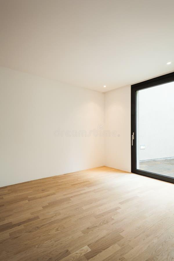 Binnenlands nieuw huis stock foto