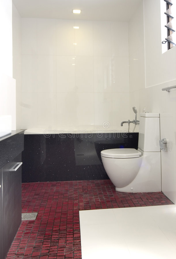 Binnenlands ontwerp - badkamers royalty-vrije stock fotografie
