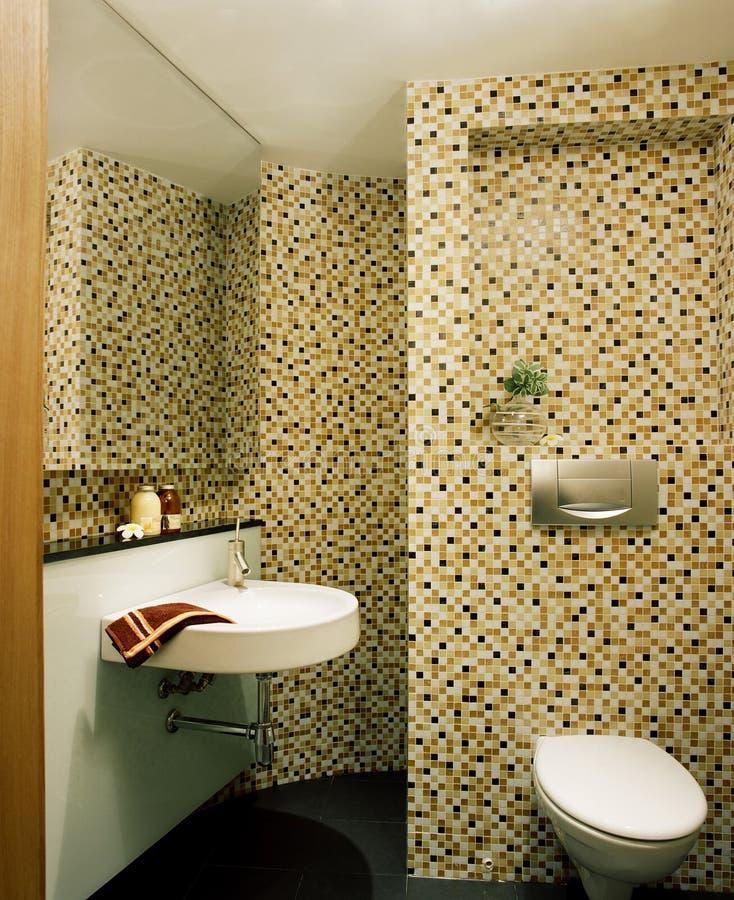 Binnenlands ontwerp - badkamers royalty-vrije stock foto's