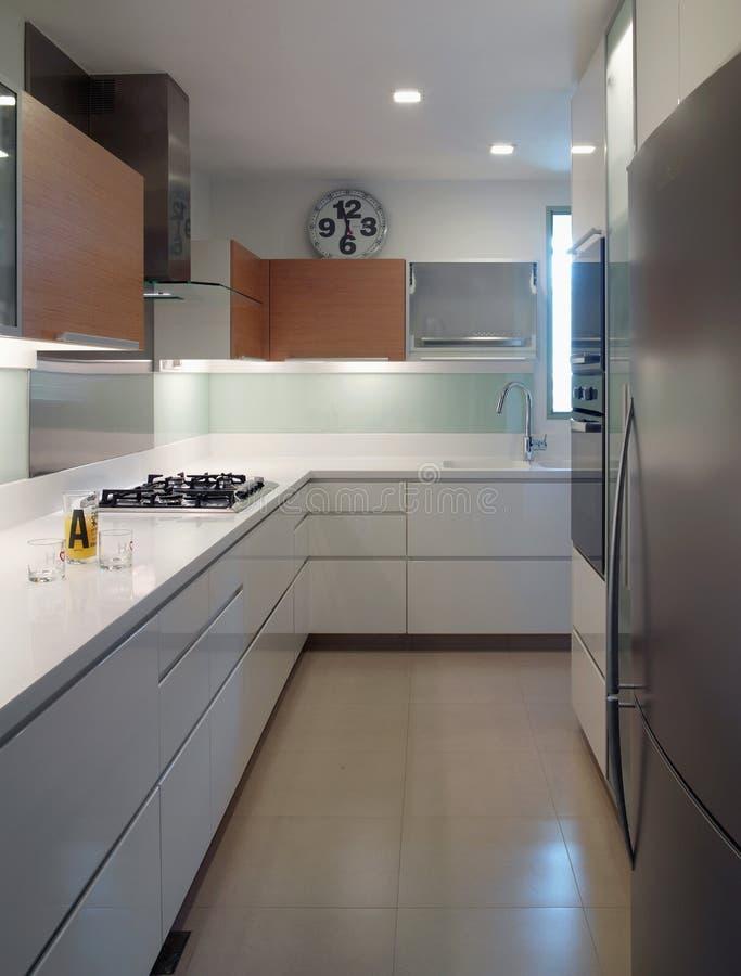 Binnenlands ontwerp - keuken stock foto's