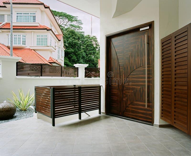 Binnenlands ontwerp - lounge stock foto